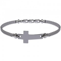 Kaufen Sie Jack & Co Herrenarmband Cross-Over JUB0018