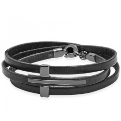 Kaufen Sie Jack & Co Herrenarmband Cross-Over JUB0036