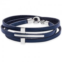 Kaufen Sie Jack & Co Herrenarmband Cross-Over JUB0037
