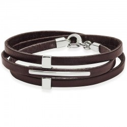 Kaufen Sie Jack & Co Herrenarmband Cross-Over JUB0039