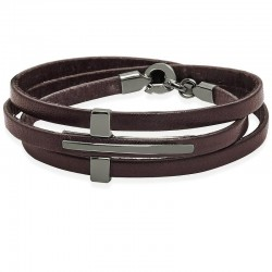 Kaufen Sie Jack & Co Herrenarmband Cross-Over JUB0040