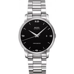Mido Herrenuhr Baroncelli III COSC Chronometer Automatic M0104081105190