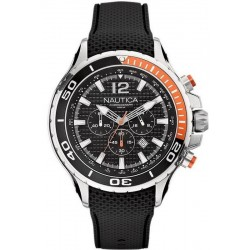 Nautica Herrenuhr NST 02 Chronograph A21017G