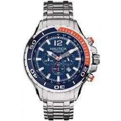 Nautica Herrenuhr NST 02 A26535G Chronograph