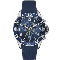 Nautica Herrenuhr NST 19 Chronograph NAI15501G