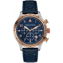 Kaufen Sie Nautica Herrenuhr BFD 105 NAI17500G Chronograph