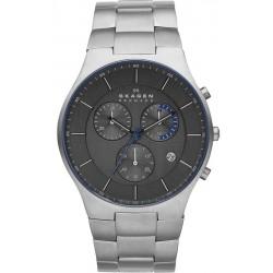 Kaufen Sie Skagen Herrenuhr Balder Titanium Chronograph SKW6077