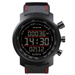 Kaufen Sie Suunto Elementum Terra Black/Red Leather Herrenuhr SS019171000