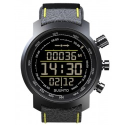Kaufen Sie Suunto Elementum Terra Black/Yellow Leather Herrenuhr SS019997000