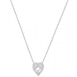 Swarovski Damenhalskette Sparkling Dance Heart 5272365