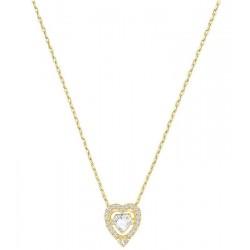 Swarovski Damenhalskette Sparkling Dance Heart 5284190