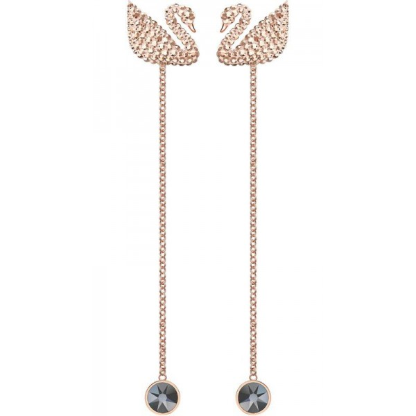 Kaufen Sie Swarovski Damenohrringe Iconic Swan 5373164