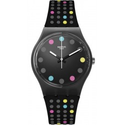 Swatch Damenuhr Gent Boule A Facette GB305