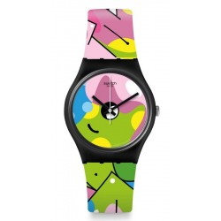 Kaufen Sie Swatch Damenuhr Gent Image Of Graffiti GB317