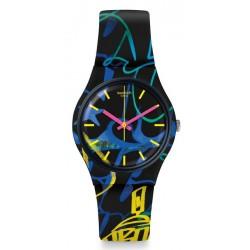 Kaufen Sie Swatch Unisexuhr Gent Nightclub GB318