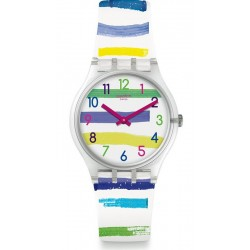 Swatch Unisexuhr Gent Colorland GE254