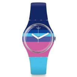 Kaufen Sie Swatch Damenuhr Gent Azul'Heure GE260