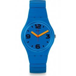 Swatch Unisexuhr Gent Pepeblu L GN251A
