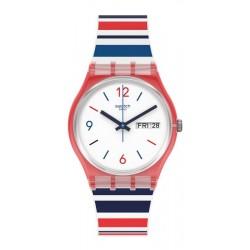 Swatch Unisexuhr Gent Sea Barcode GR712