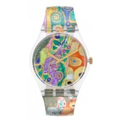 Swatch Uhr MoMA Hope, II by Gustav Klimt GZ349