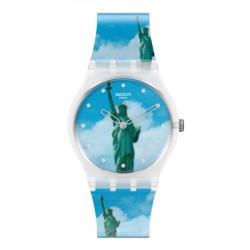 Swatch Uhr MoMA New York by Tadanori Yokoo GZ351