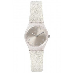 Swatch Damenuhr Lady Silver Glistar Too LK343E