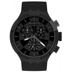 Swatch Uhr Big Bold Chrono Checkpoint Black SB02B400