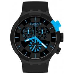 Swatch Uhr Big Bold Chrono Checkpoint Blue SB02B401