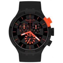 Swatch Uhr Big Bold Chrono Checkpoint Red SB02B402
