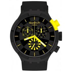 Swatch Uhr Big Bold Chrono Checkpoint Yellow SB02B403
