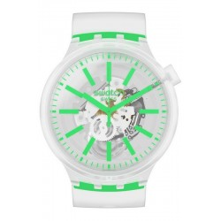 Swatch Uhr Big Bold Greeninjelly SO27E104
