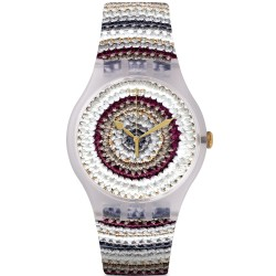 Swatch Unisexuhr New Gent Tricotime SUOK114