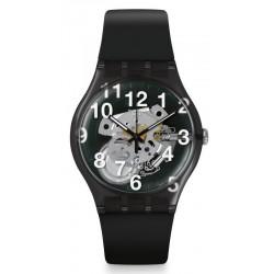Kaufen Sie Swatch Unisexuhr New Gent Black Board SUOK135
