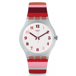 Swatch Damenuhr New Gent Tramonto Occaso SUOK138