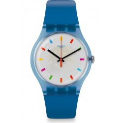 Swatch Unisexuhr New Gent Color Square SUON125