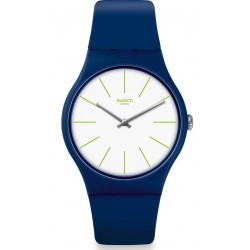Swatch Unisexuhr New Gent Bluesounds SUON127