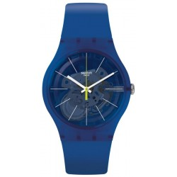 Swatch Unisexuhr New Gent Blue Sirup SUON142
