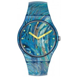 Swatch Uhr MoMA The Starry Night by Vincent Van Gogh SUOZ335