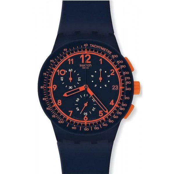 Kaufen Sie Swatch Unisexuhr Chrono Plastic Rebirth Blue SUSN401