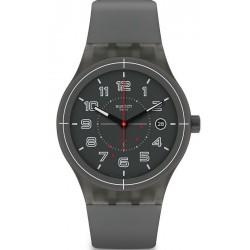 Swatch Unisexuhr Sistem51 Sistem Ash SUTM401 Automatik