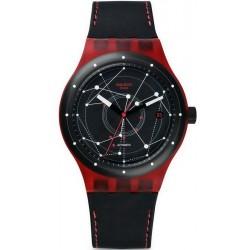 Kaufen Sie Swatch Unisexuhr Sistem51 Sistem Red Automatik SUTR400