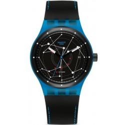 Kaufen Sie Swatch Unisexuhr Sistem51 Sistem Blue Automatik SUTS401