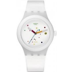 Kaufen Sie Swatch Unisexuhr Sistem51 Sistem White Automatik SUTW400