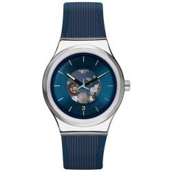 Swatch Unisexuhr Irony Sistem51 Blurang Automatik YIS430