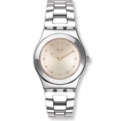 Swatch Damenuhr Irony Medium Puntagialla YLS197G