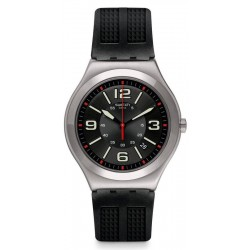 Swatch Herrenuhr Irony Big Classic Black Grid YWS444