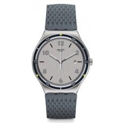 Kaufen Sie Swatch Herrenuhr Irony Big Classic Asphaltise YWS447