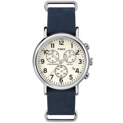 Timex Herrenuhr Weekender Chronograph Quartz TW2P62100