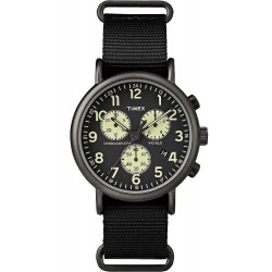 Timex Herrenuhr Weekender Chronograph Quartz TW2P71500