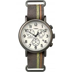 Timex Herrenuhr Weekender Chronograph Quartz TW2P78000